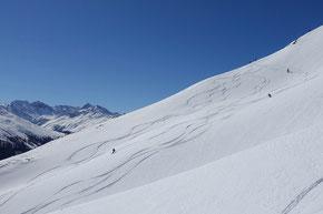 Vom Weissfluhjoch zum Davosersee