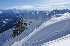 Vom Hockenhorn ins Lötschental mit dem VS 4000er Panorama