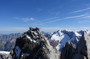 auf dem Gipfel des Diechterhorns 3389m