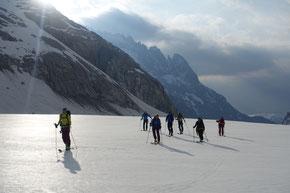 Über den Oberaletschgletscher zum «Klein Aletschhorn»