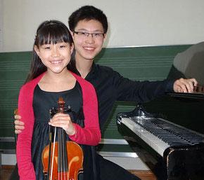 Clara Shen und Viktor Shen. Foto: privat