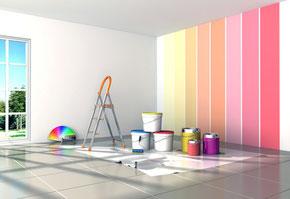 Wenn es um Malerarbeiten geht, dann sind Sie bei der Kultbau GmbH, Ihrer Malerfirma in Erfurt, an der richtigen Adresse!