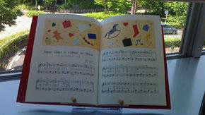 絵本と楽譜スタンド