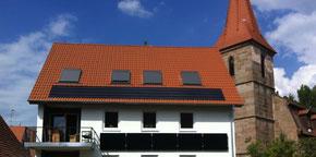 Ensemble Denkmalschutz Photovoltaik Solar