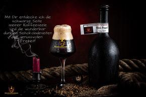 Black Pearl Bier der Ehrentrautmannsdorfer Biermanufaktur aus der Brauerei in Trautmannsdorf Leitha fotoberger.at
