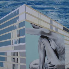 """""""Zum Meer"""" Arbeit Franziska Kuos aus dem Jahr 2014"""