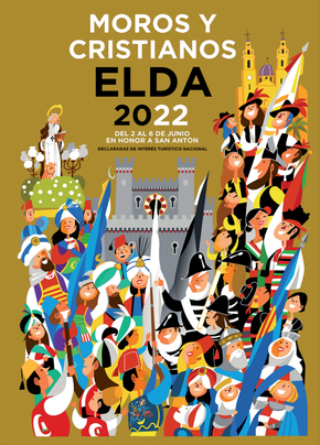 Fiestas en Elda Moros y Cristianos