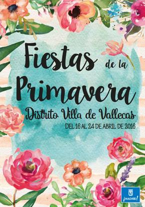 Fiestas en Vallecas Fiestas de Primavera