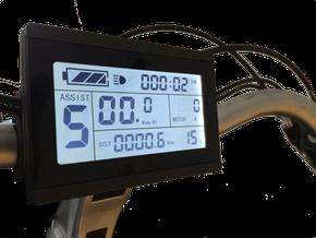 ombouwset ebike kit met groot LCD scherm display bij Fiets Ombouwcentrum Nederland