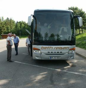 Unser Bus für vier Tage