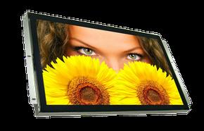 Industrie LCD als Einbaumonitor oder im Ganzmetallgehäuse. Auch als Highbrightness und mit Multitouch