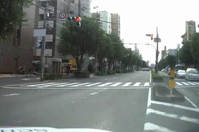 ドライブレコーダーによる右折場面の撮影映像②