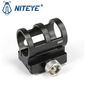 Fixation lampe picatinny arme niteye GM02