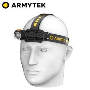 lampe frontale armytek wizard C2 PRO 2020 V4 V5 2500 2330 Lumens