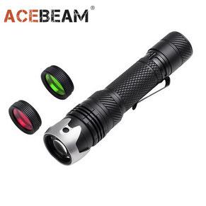 Lampe torche laser acebeam w10 250 lumens