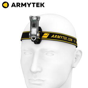micro lampe frontale armytek zippy ES gris bleu vert jaune