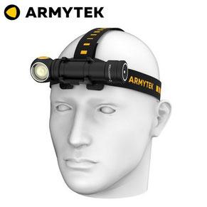 lampe frontale armytek wizard C2 PRO MAX 4000 3720 Lumens