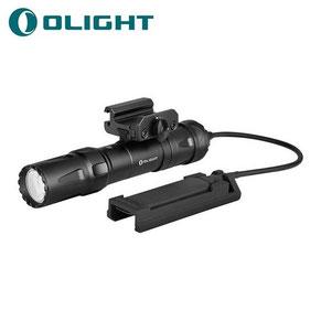 Lampe tactique pour arme Olight ODIN 2000 Lumens avec fixation picatinny et interrupteur déporté