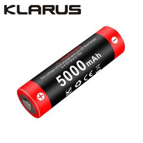 Batterie klarus 21GT-50 21700 5000mAh pour XT21X