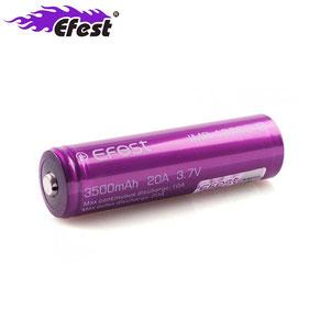 batterie efest 18650 imr 3500 mah