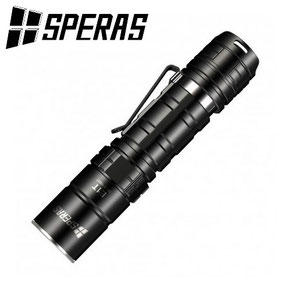Lampe torche Tactique Speras E1 T 1700 lumens noir