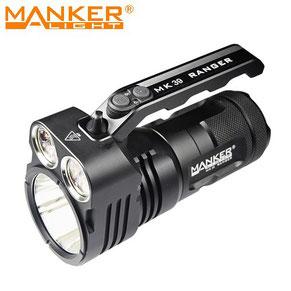 Lampe torche manker mk39 6000 lumens