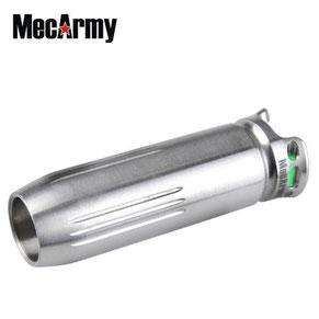 Micro lampe rechargeable mecarmy BL43T Titane + Tritium 130 Lumens