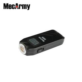 Micro lampe torche de défense avec sirène mecarmy SGN5