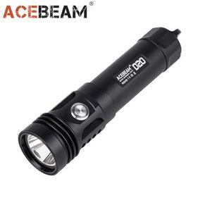 Lampe torche de plongé Acebeam D20 2700 Lumens