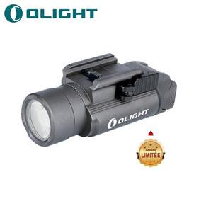 Lampe tactique olight pistolet PL PRO gris métallisé édition limité 1500 Lumens