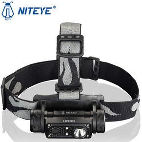 Lampe frontale HR30 niteye 950 Lumens rechargeable