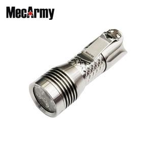Lampe torche MecArmy PS16 Polish