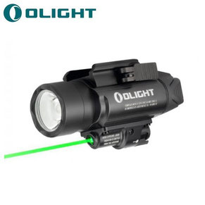 Lampe tactique olight pistolet BALDR PRo laser vert