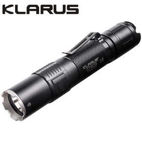 Lampe torche rechargeable klarus XT2CR 1600 lumens noir