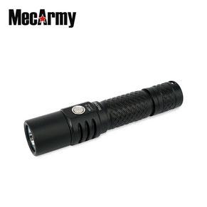 Lampe torche MecArmy MOT10 Noir