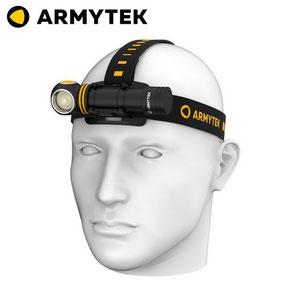 lampe frontale armytek Elf C2 USB XP-L 1050 Lumens noir