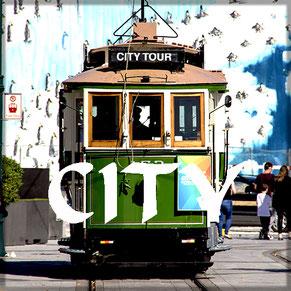 Straßenbahn City Christchurch Neuseeland