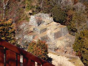 大矢倉は、たしかにマチュピチュの古代遺跡っぽい
