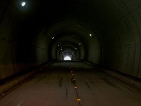 県境にあるR306の鞍掛トンネル。ここを抜ければ滋賀県