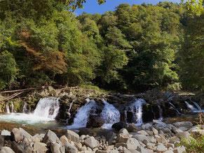 紅葉前に訪れた平滝。隠れた写真スポットがここ