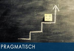 Beratung und Organisation: pragmatisch