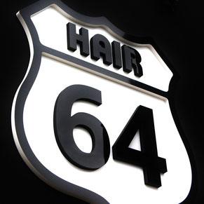 ヘアー 64