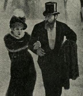 Sarah Bernhardt et Henry Fouquier