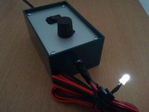 Réalisation Claude Gonon Microscopie d'un éclairage LED pour microscope