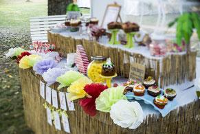 Candy-Bar zur Hochzeitsplanung