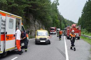 Feuerwehr Verkehrsunfall