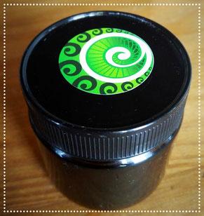 Pot en verre Puri miel de Manuka avec autocollant