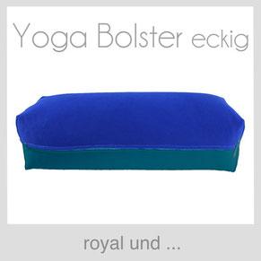 Yoga Bolster Blau