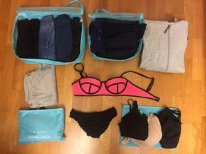 Kleider, Packliste, Weltreise