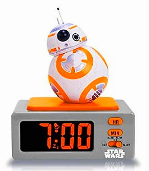 Wecker Star Wars BB-8 mit Sound